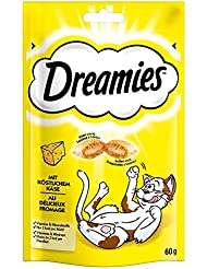 Dreamies Treats Cats Crave with Delicious Cheese, 60 g