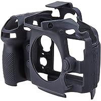 Custodia EasyCover-Cover protettiva in Silicone per fotocamera Nikon D810, colore: nero