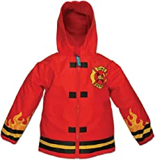 Feuerwehr - Firetruck - Stephen Joseph Kinder Regenjacke Regenmantel