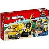LEGO - 10734 - Juniors  - Jeu de Construction - Le Chantier de Démolition