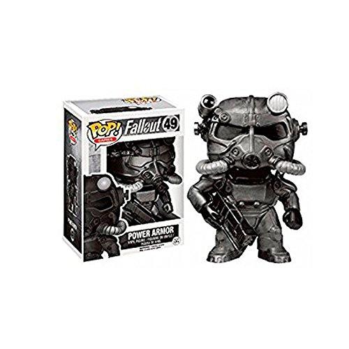 Fallout POP! Games Vinyl Figure T-60 Power Armor (Black) 9 cm Funko Mini figures