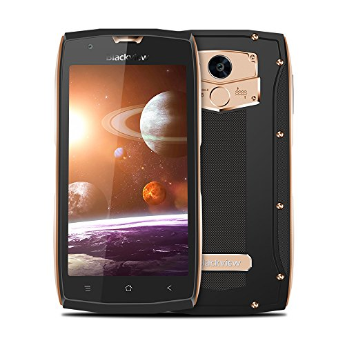 Teléfono Móvil, Blackview BV7000 Outdoor Smartphone IP68, Golpes y Polvo, 5.0'FHD, 5G WiFi, 2GB RAM + 16GB ROM, 8.0MP...