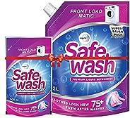 Safewash Matic Liquid Detergent Front Load 2L + 550ml