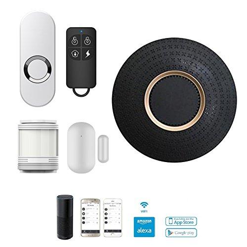 LWD Smart Home sistema de alarma de seguridad WiFi app-enabled, Kits de...