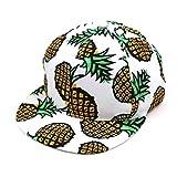 squarex 1Ananas Snapback BBOY Hat Verstellbare Baseball Cap Hip-Hop Hat Unisex