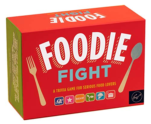 Foodie Fight (Trivia Game for Adults, Family Trivia Games, Gift for Food Lovers): A Trivia Game for Serious Food Lovers