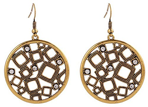 SaySure - Gold&Silver Plated Jewelry Austrian Crystal Geometry