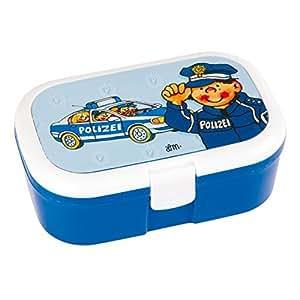 brotdose lunchbox polizei auto polizist mit herausnehmbaren fach extra einsatz. Black Bedroom Furniture Sets. Home Design Ideas