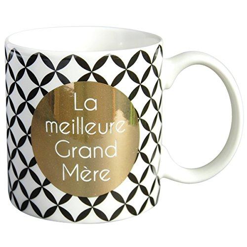 LA CARTERIE Mug cadeau à message La meilleure Grand-Mère