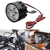 Alamor 10V-85V Dc 12W Led Light Motorrad Roller Fahrrad Rückspiegel Lampe Lenker