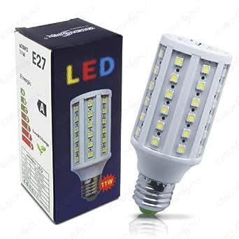led lampe 60 smd led energiesparlampe led birne leuchtmittel e27 kaltweiss 11w entspricht. Black Bedroom Furniture Sets. Home Design Ideas