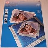 Prym Tissu cratif  imprimer (1 paquet de 5 feuilles)