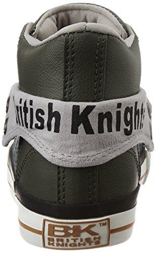 British Knights ROCO JUNGEN HIGH-TOP-SCHUH SNEAKER GRIS/GRIS FONCÉ