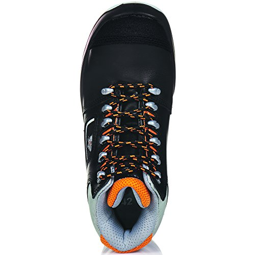 ruNNex 5308-38 Bottes de sécurité TeamStar S3 Taille 38 Noir/Orange Noir/orange
