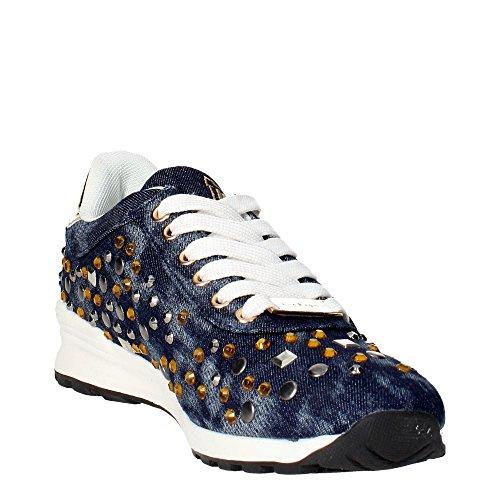 Laura Biagiotti 896 Sneakers Femme Bleu