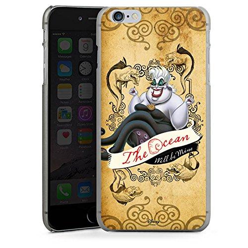 Apple iPhone X Silikon Hülle Case Schutzhülle Disney Arielle die Meerjungfrau Ursula Geschenke Merchandise Hard Case anthrazit-klar