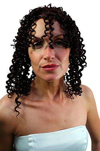 Afro Karibik STYLE Partyperücke Perücke Göttin brünett (Griechische Göttin Perücken)