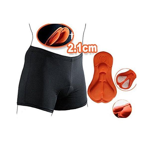 per Lunga Distanza Equitazione Gel Imbottite Pantaloncini Stretti//Imbottito Downhill MTB Traspirante Pantaloncini YYDM Ciclismo Shorts Intimo Femminile