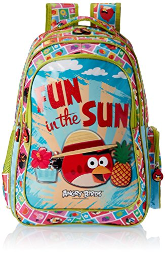 Angry Birds Green Children's Backpack (Age group :8-12 yrs)