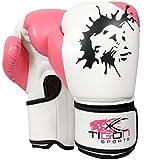 Damen Handschuhe Kampf Boxing Boxsack, MMA, Muay Thai, Kickboxen, Grappling 226,8 g (8 oz)