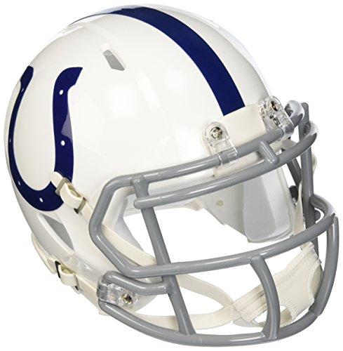 "NFL Unisex Revolution Speed Mini Helm, Unisex, Indianapolis Colts, 7.5"" x 6.5"""