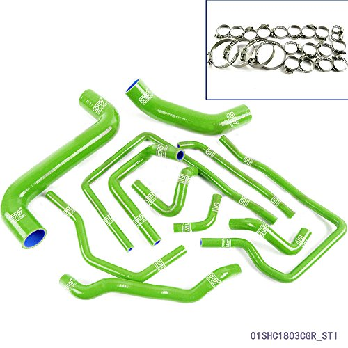 speedmotor-sti-silicone-radiator-hose-for-subaru-impreza-wrx-gda-gdb-new-age-02-07-green