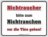 Blechschild Schild mit Motiv/Spruch