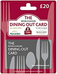 The Dining Out £20 Gift Card - Post