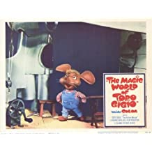 The Magic World of Topo Gigio Poster (11 x 14 Inches - 28cm x 36cm) (1965) Style B
