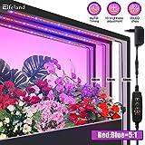 Elfeland LED Pflanzenlampe Pflanzenlicht Pflanzenleuchte mit Timer 10 Heillgkeitsstufen 3Pcs Strip...