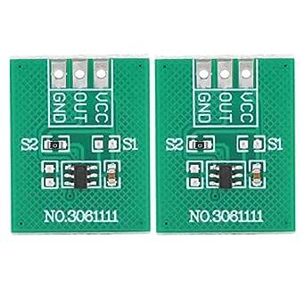 2 Stücke Ttp223 Ba6 Kapazitive Touch Button Modul Tippbetrieb Touch Schalter High Low Level Ausgang 2 5 V 5 5 V Gewerbe Industrie Wissenschaft