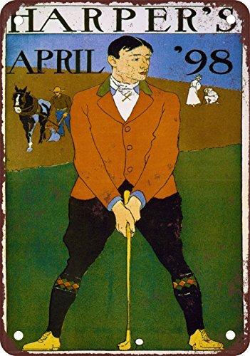 Harper da Golf Tema Stile Vintage Riproduzione