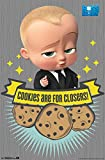 Póster El bebé Jefazo. Cookies are for Closers