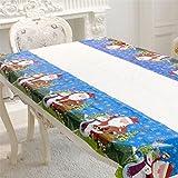 display08 Decorazione da tavola a gettare di un albero di Natale (Babbo Natale)
