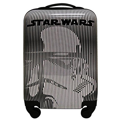 Maleta para cabina - Tamaño 55 cm - STAR WARS - irrompible y ligera - 4 ruedas -