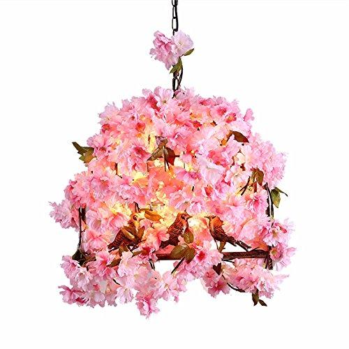 AanYuAan-lamp Lampada a Sospensione Nordic minimalista soggiorno sala da pranzo camera da letto studio lampada uccello fiore di ciliegio