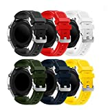 Yayuu Gear S3 Frontier/Classic/Samsung Galaxy Watch 46mm Cinturino, 22mm Braccialetto di Ricambio Silicone Sportivo Cinturino per Samsung Gear S3/Garmin Vivomove/Moto 360 2nd Gen 46mm Smart Watch
