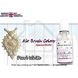 Metallic Luster Air Brush Cake Decorating Edible Colors | Pearl White | 20 ML | by Karen's