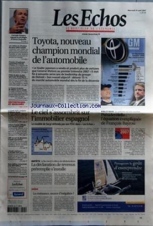 echos-les-no-19906-du-25-04-2007-toyota-nouveau-champion-mondial-de-lautomobile-le-leader-japonais-a