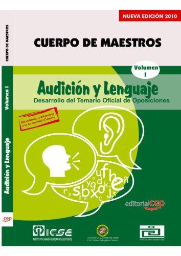 Cuerpo de Maestros. Audición y Lenguaje. Temario Vol. I. Edición para Canarias (Colección 720) por Sin datos