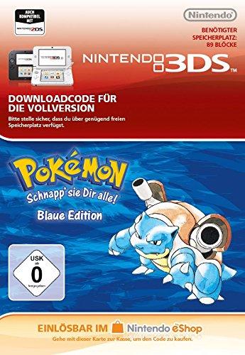 Pokémon Blaue Edition [3DS Download Code]