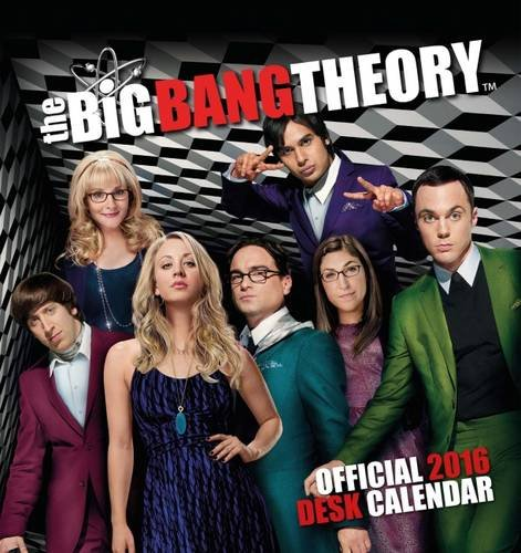 The Official Big Bang Theory 2016 Desk Easel Calendar
