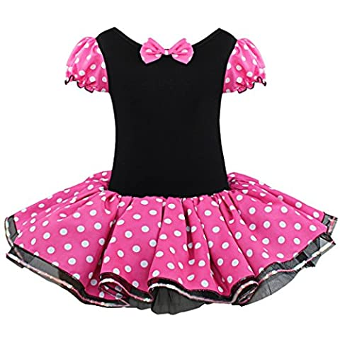 Costumes Mignons Halloween Toddler - freebily Fille Vintage Polka Point Robe Princesse