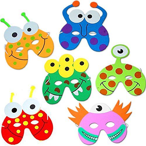 german-trendsellerr-8-x-monster-masken-aus-schaumstoff-fur-kinder-monster-party-ideal-zum-kindergebu