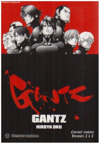 Gantz - Coffret T1 à T3