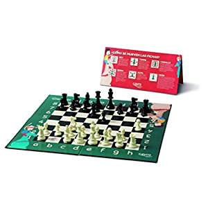 Cayro – Mi Primer ajedrez— Juego de observación y lógica – Juego Mesa Infantil – Desarrollo de Habilidades cognitivas e inteligencias múltiples – Juego Tradicional (169)