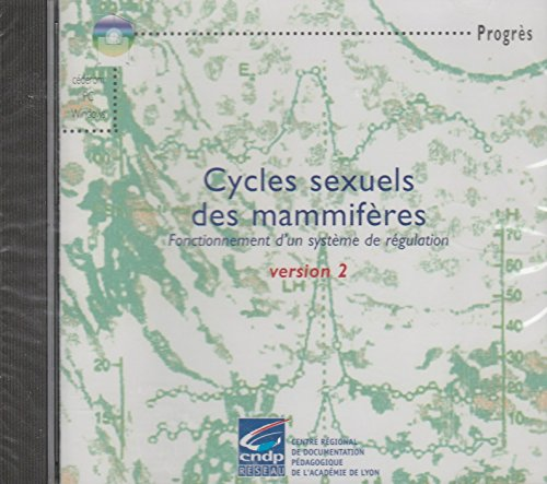 Cycles sexuels des mammifères : CD-ROM version 2 par CRDP de Lyon