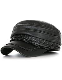 Ililily black étui en cuir alimentation de détail military flex fit casquette plate