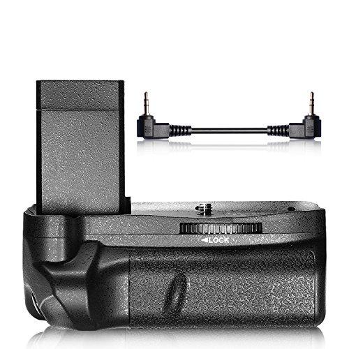 Neewer Pro Batteriegriff Akkugriff Batery Grip für Canon EOS Rebel T3 T5 T6/ EOS 1100D 1200D 1300D komtibal mit 2 LP-E10 Li-Ionen-Batterien
