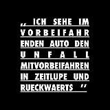 Ich Sehe Im Vorbeifahrenden Auto Den Unfall Mitvorbeifahren In Zeitlupe Und Rückwärts [Vinyl LP]